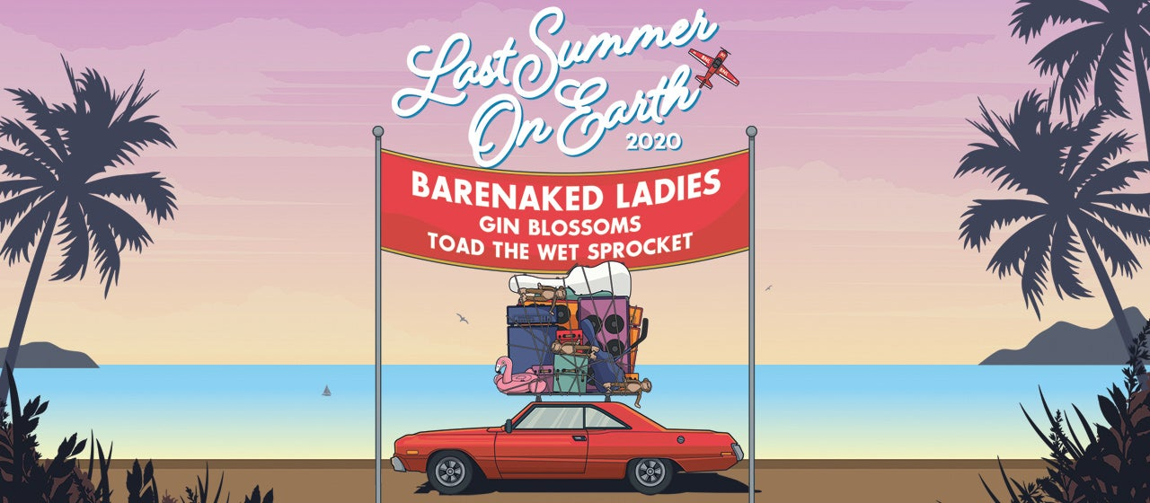Barenaked Ladies with Gin Blossoms and Toad The Wet Sprocket