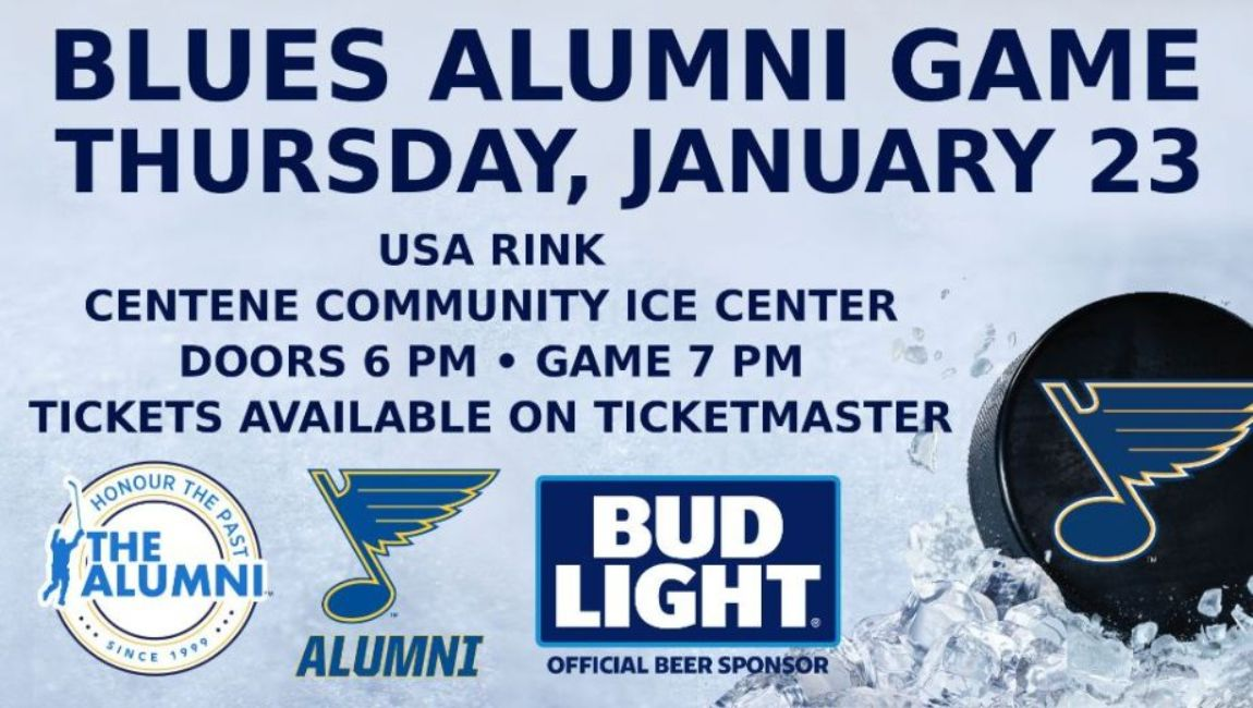 More Info for NHL Alumni Game Honoring the past coming to the Centene Community Ice Center