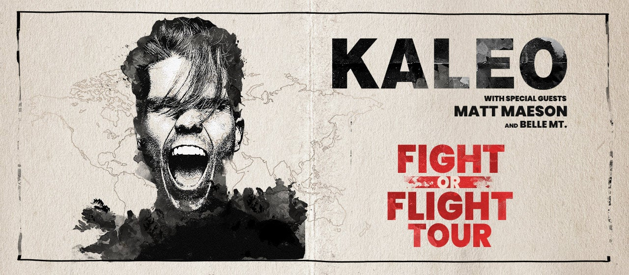 POSTPONED: KALEO with special guests Matt Maeson & Belle MT.