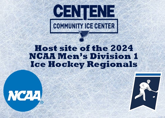 More Info for NCAA awards the 2024 Men's Ice Hockey Regional to the Centene Community Ice Center