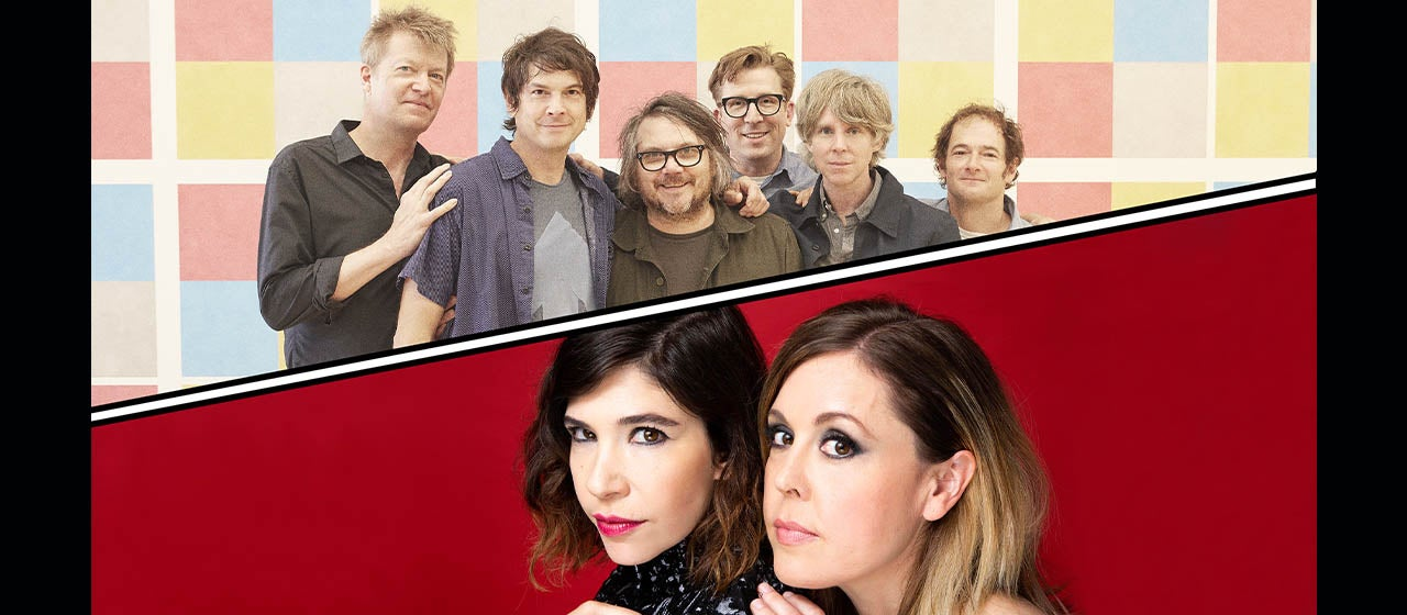 Wilco + Sleater-Kinney with special guest NNAMDI