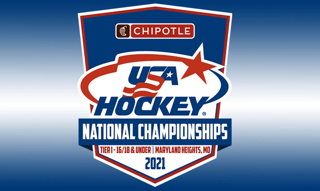 More Info for 2021 Chipotle USA Hockey National Championships - Tier I 16U and 18U